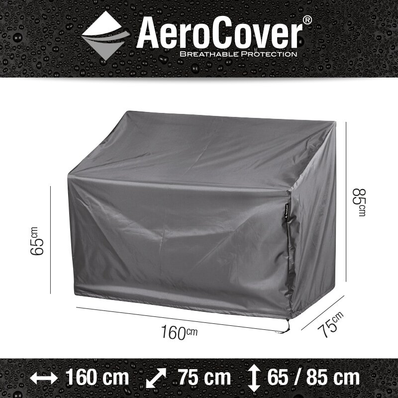 AeroCover tuinbankhoes 160x75x65/85