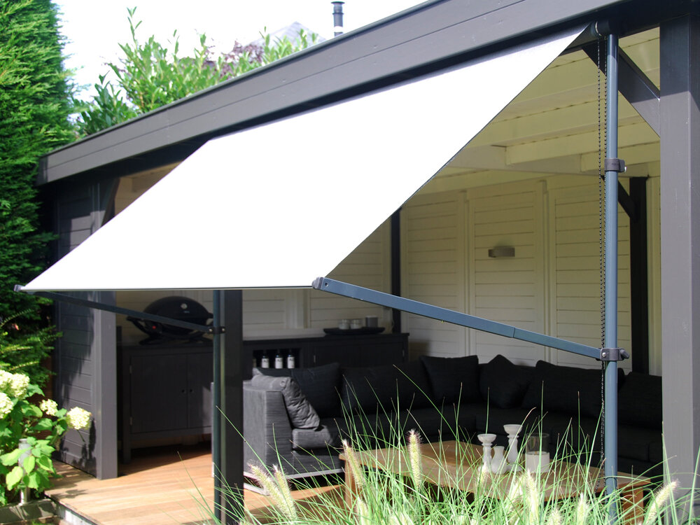 Coolfit balkon zonnescherm flex frame