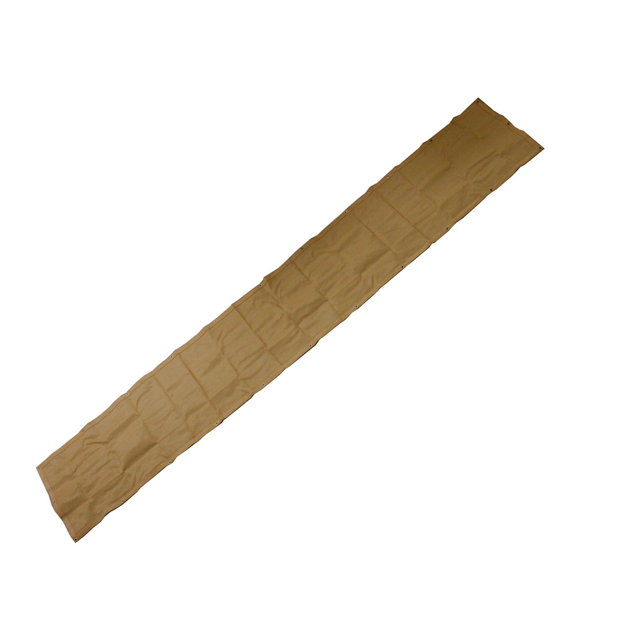 Balkondoek 0.8 x 5 meter - Zand