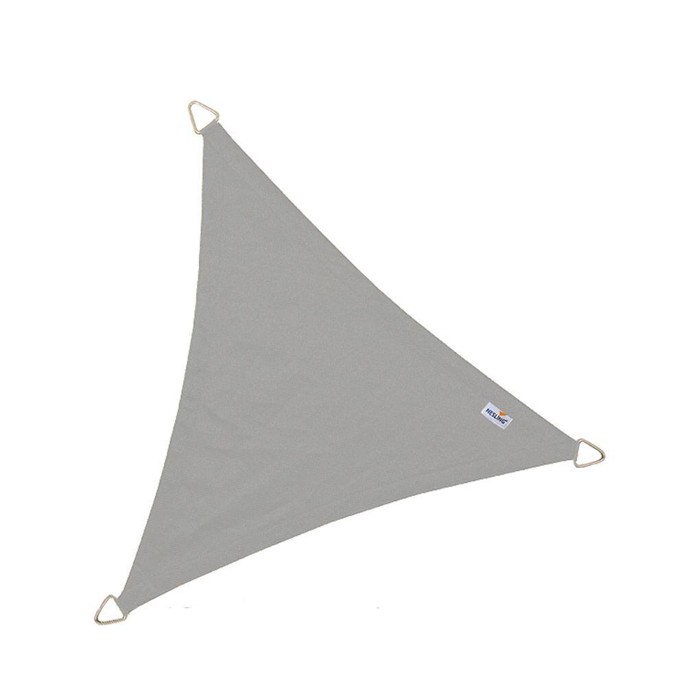 Coolfit schaduwdoek driehoek - Antraciet