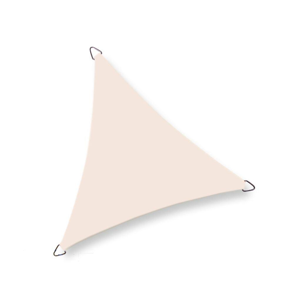 Coolfit schaduwdoek driehoek - Gebroken Wit