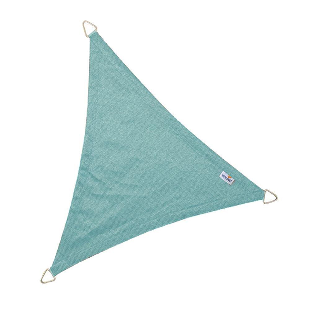 Coolfit schaduwdoek driehoek - IJsblauw