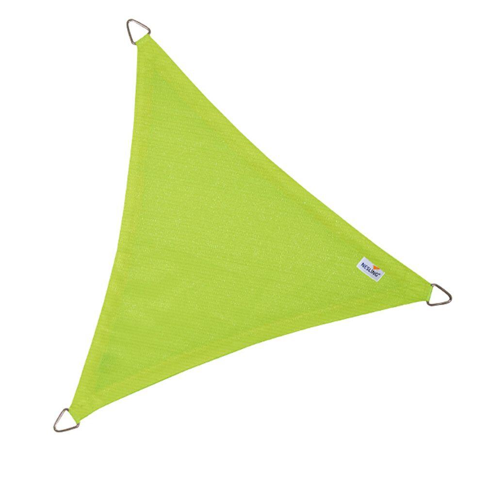 Coolfit schaduwdoek driehoek - Lime Groen