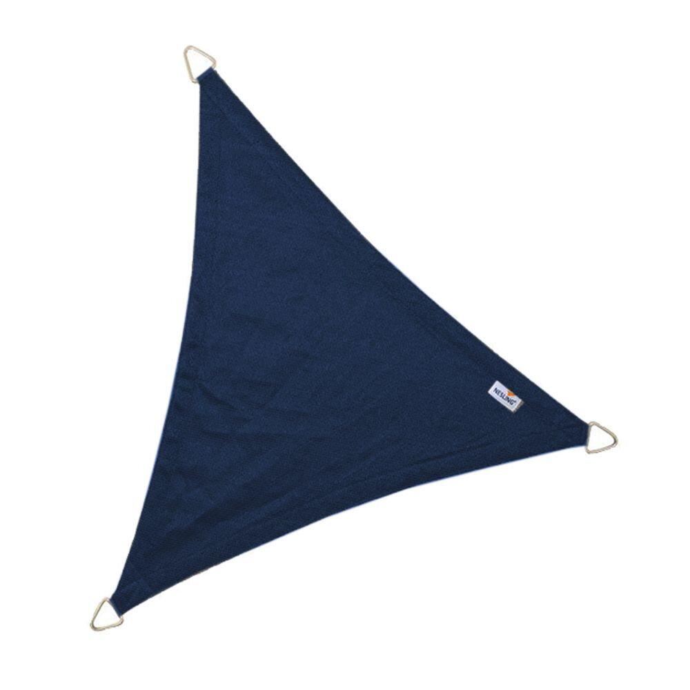 Coolfit schaduwdoek driehoek - Navy Blauw