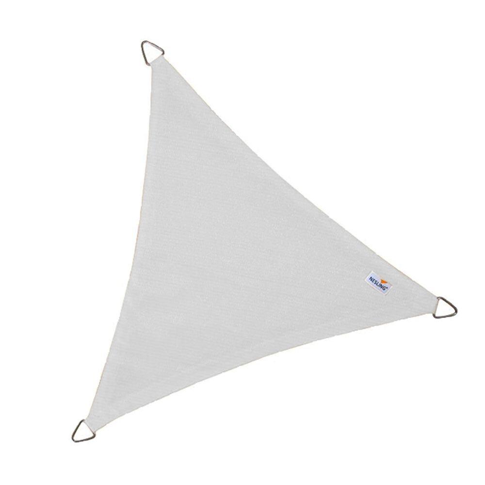 Coolfit schaduwdoek driehoek - Sneeuwwit
