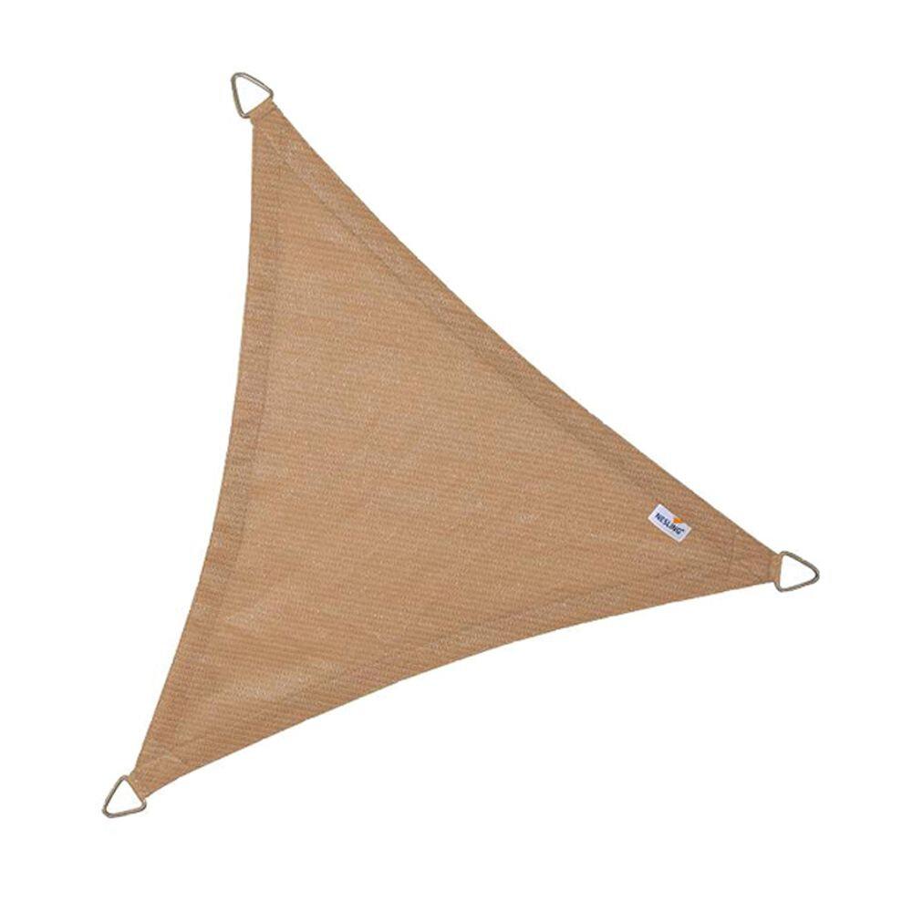 Coolfit schaduwdoek driehoek - Terracotta