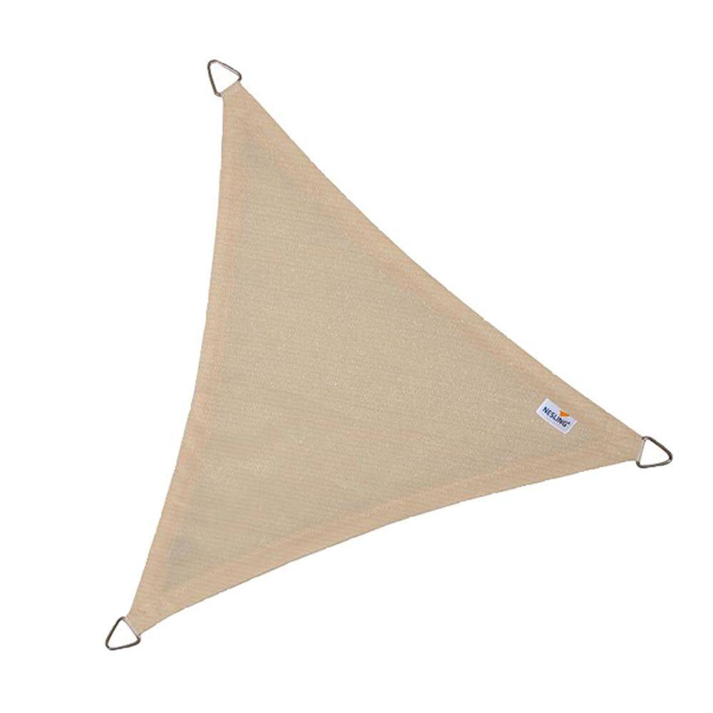 Coolfit schaduwdoek driehoek - Zand