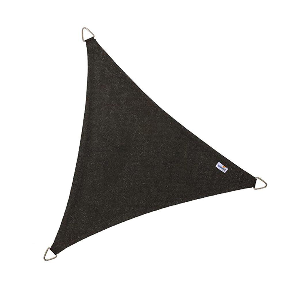 Coolfit schaduwdoek driehoek - Zwart