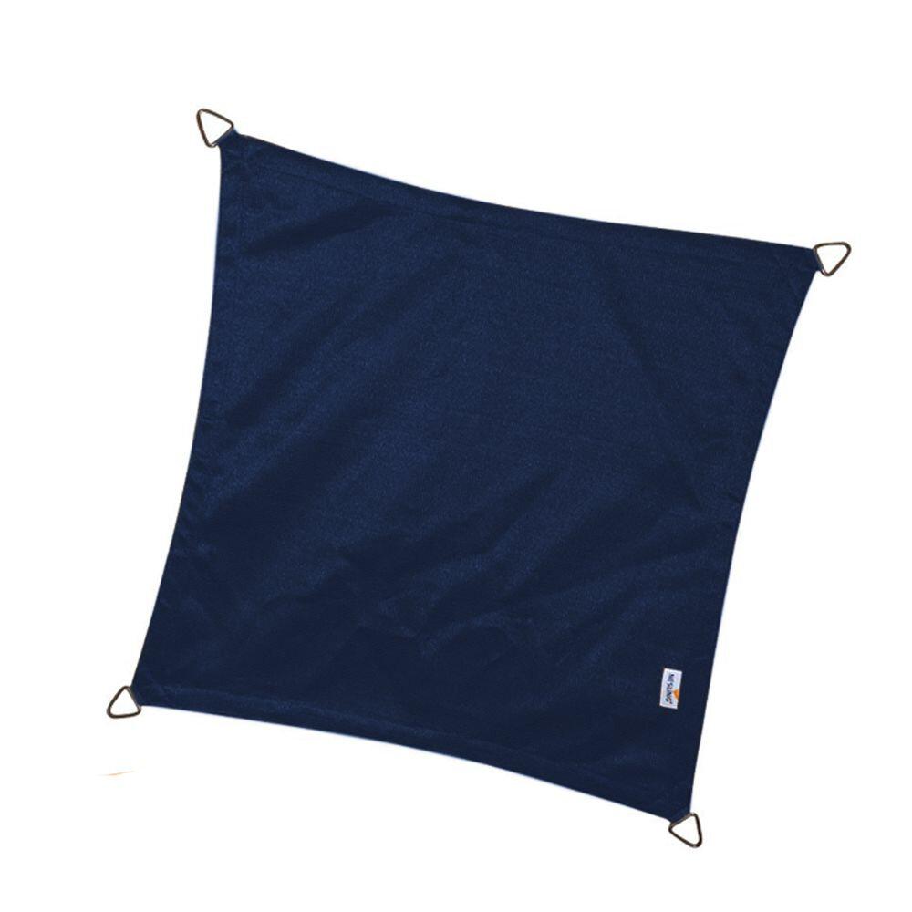 Coolfit schaduwdoek vierkant - Navy Blauw