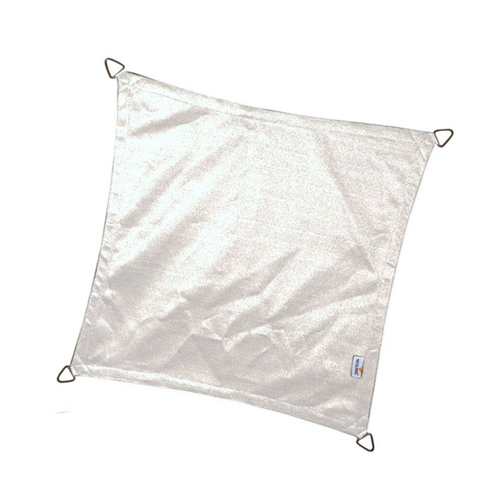 Coolfit schaduwdoek vierkant - Sneeuwwit