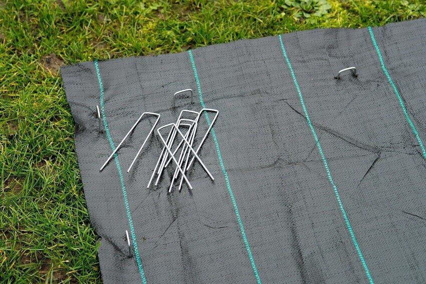 Gebruik Nature gronddoekpennen 14 x 3 cm