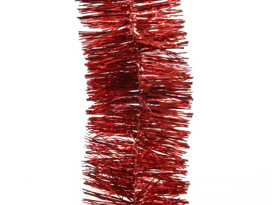 Kerstslinger / guirlande rood