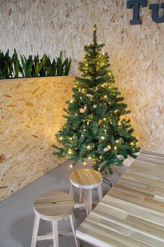 Kunstkerstboom groen incl. LED 185 cm