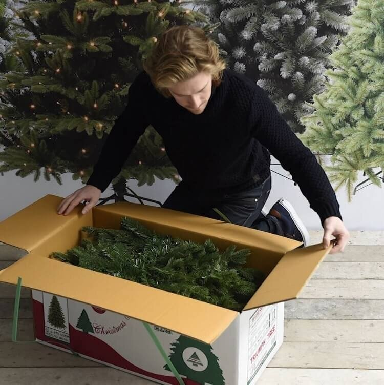 Verpakking Triumph Tree kunstkerstboom