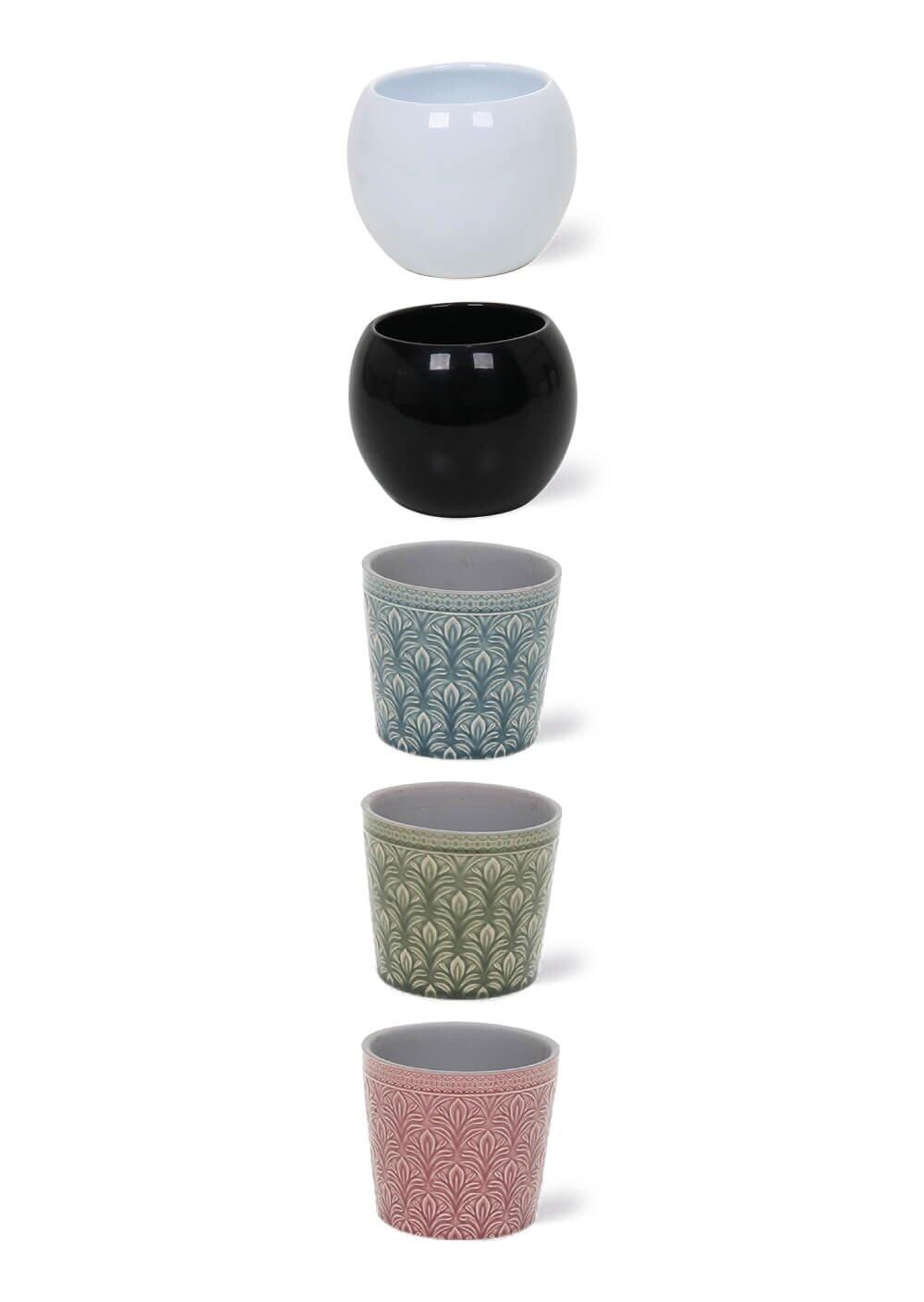 Bijbehorende potten