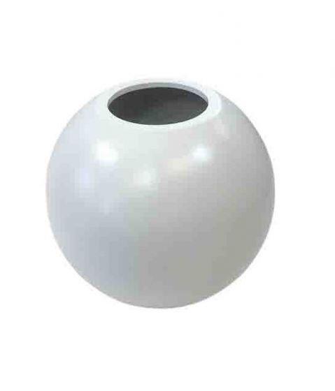 Planter Smooth wit bowl (Ø 60 cm)