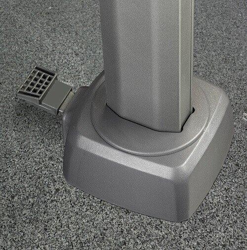 Voetpedaal voor 360 graden draaisysteem