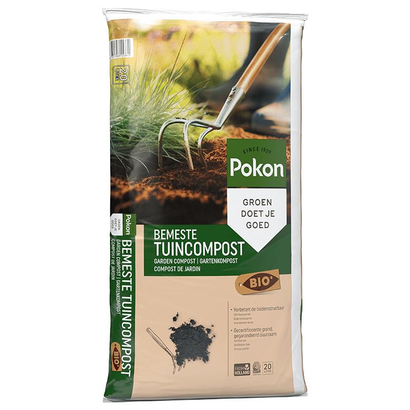 Pokon Bio Bemeste Tuincompost 20 liter