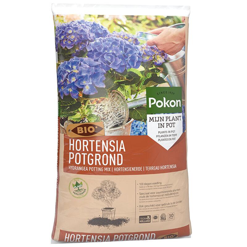 Pokon hortensia grond