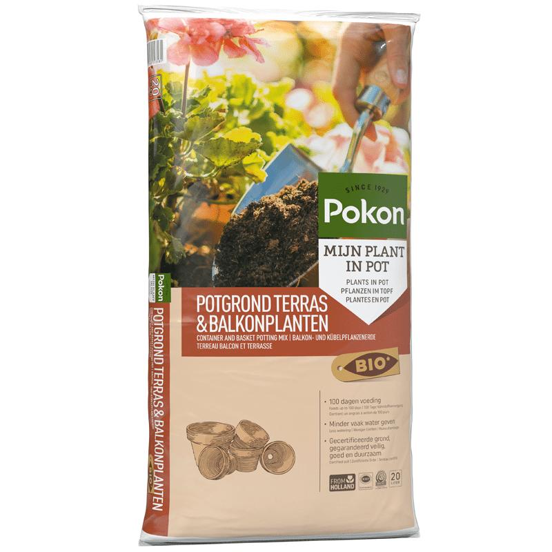 Pokon Bio Terras & Balkon Potgrond 20 liter