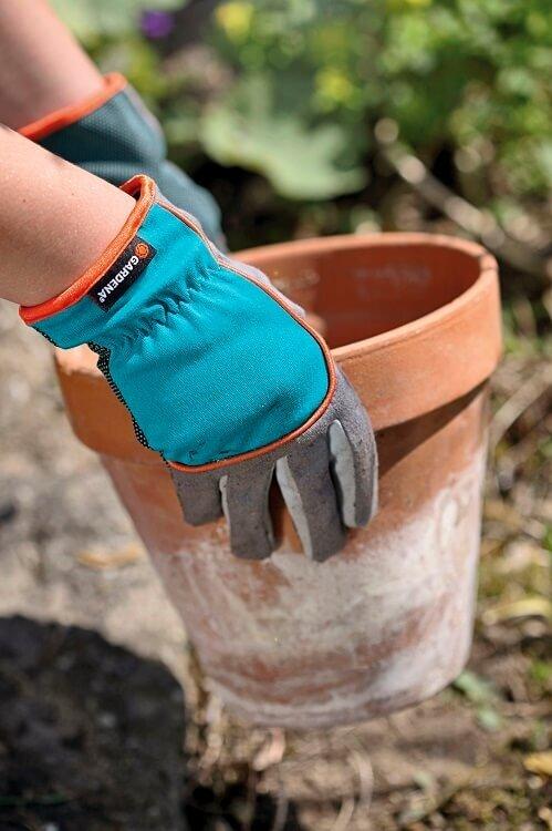 Gebruik Gardena tuinhandschoenen