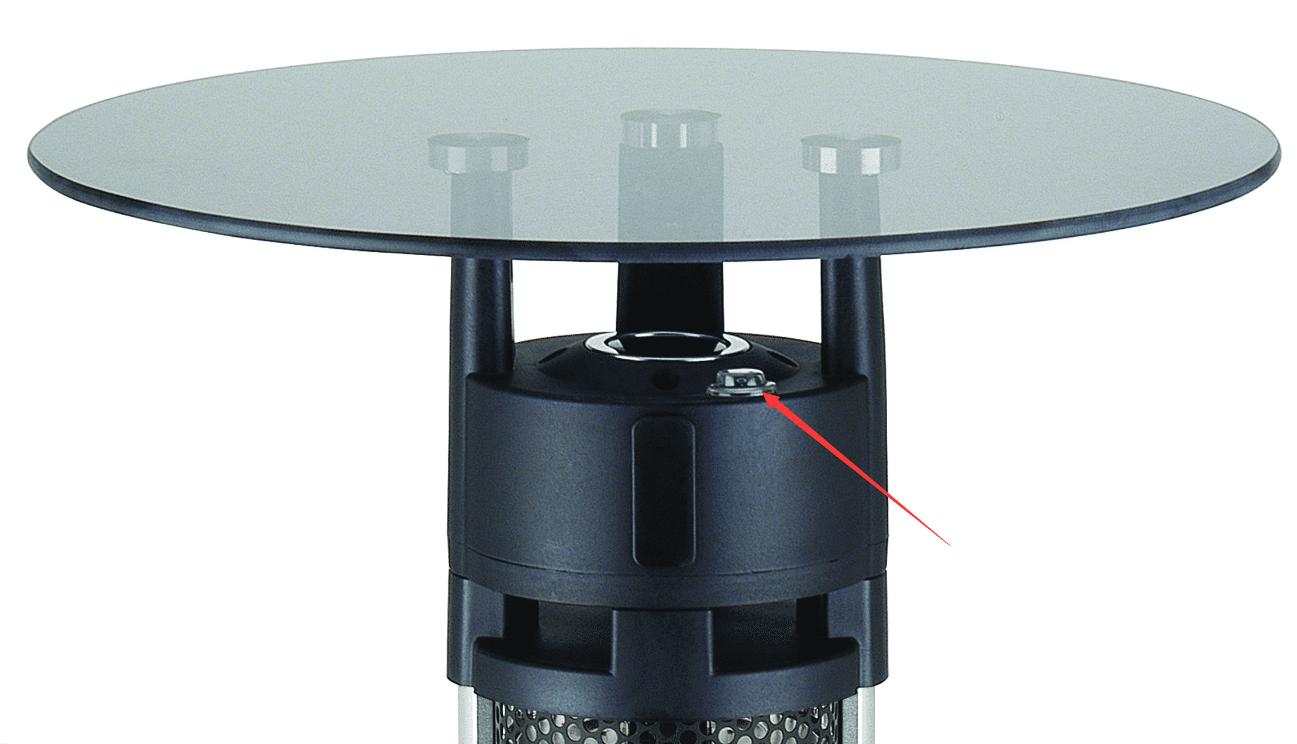 Tafelheater infrarood hoog model