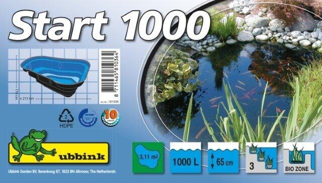 Ubbink Vijverbak Start 1000 Verpakking