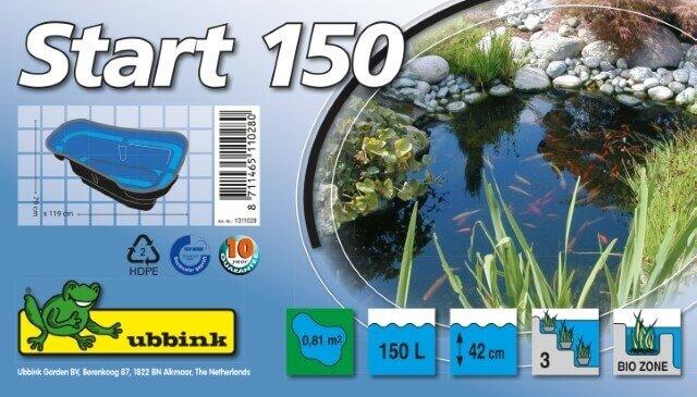 Ubbink Vijverbak Start 150 Verpakking