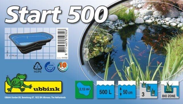 Ubbink Vijverbak Start 500 Verpakking