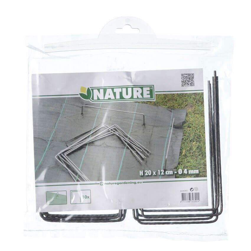 Verpakking Nature gronddoekpennen 20 x 12 cm (10 stuks)