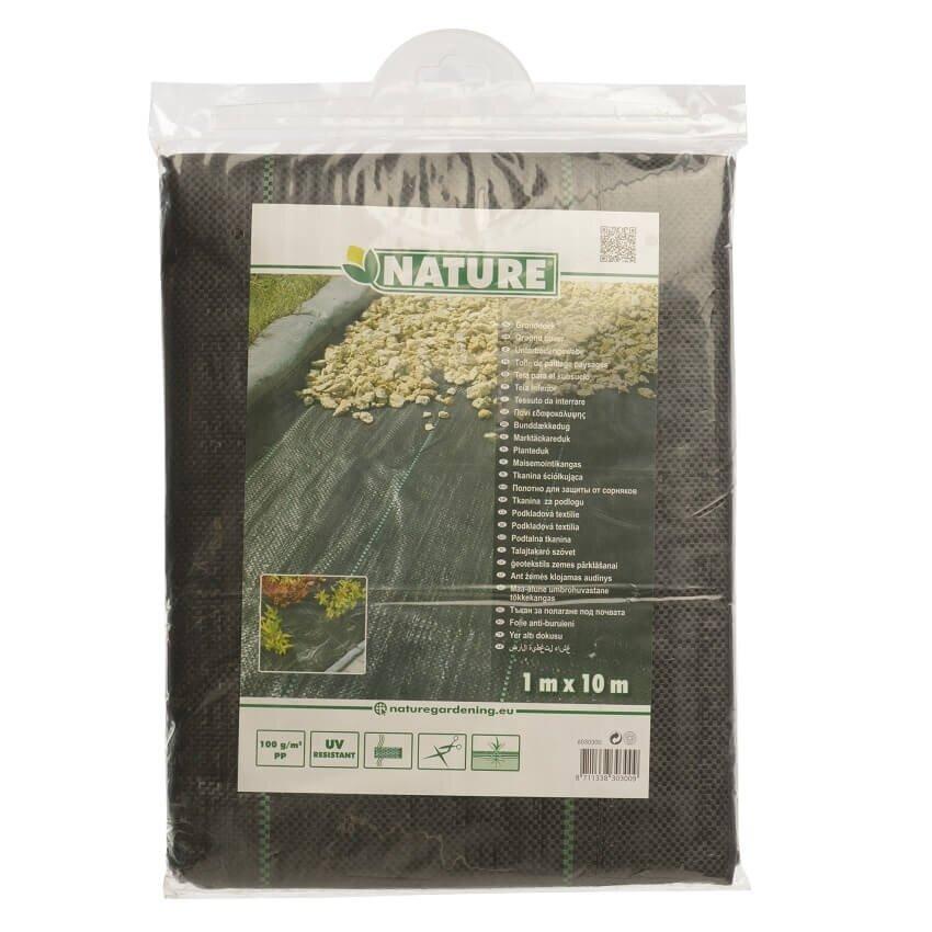 Verpakking Nature worteldoek zwart
