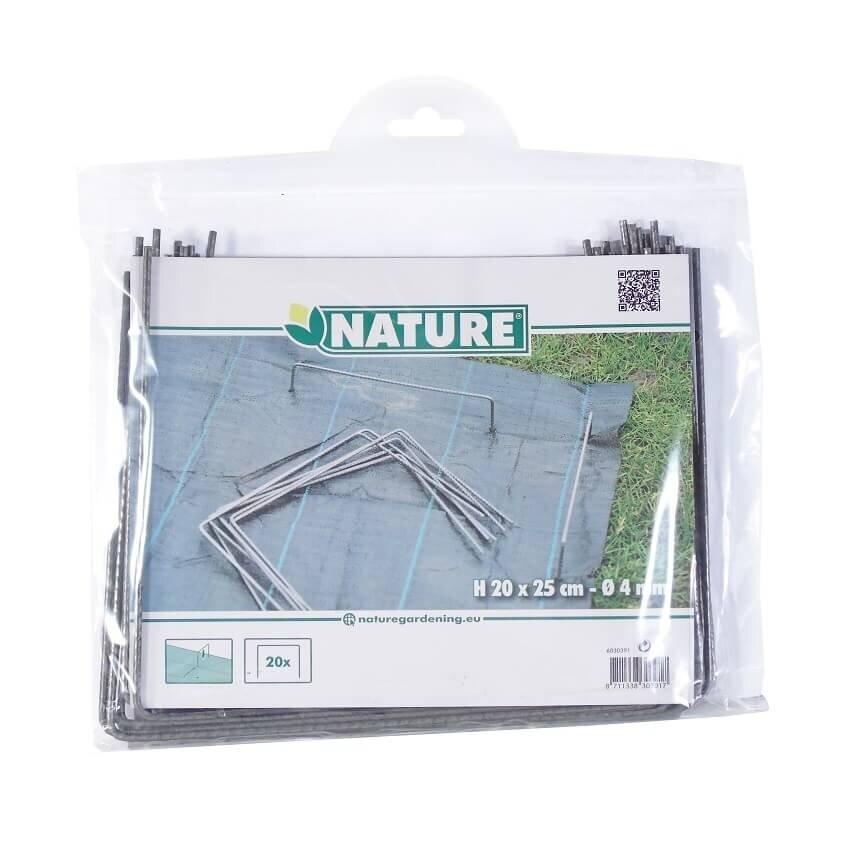 Verpakking Nature gronddoekpennen 20 x 25 cm (20 stuks)